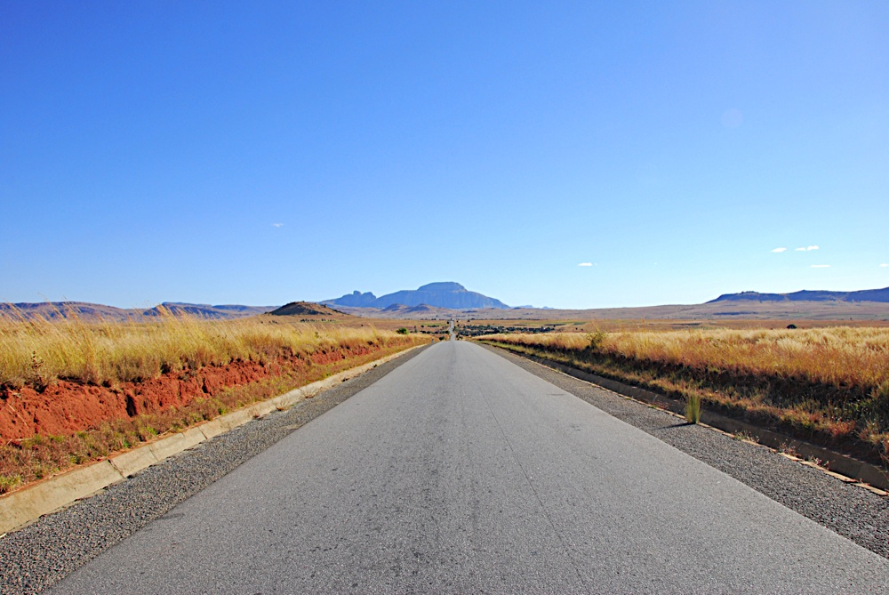 South Madagascar Road Landscape