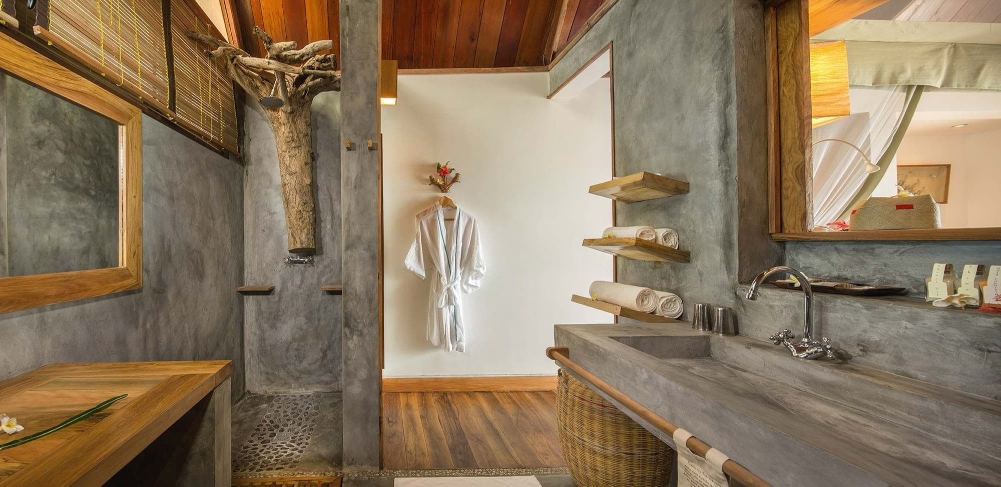 Tsarabanjina Nosy Be Madagascar Bathroom
