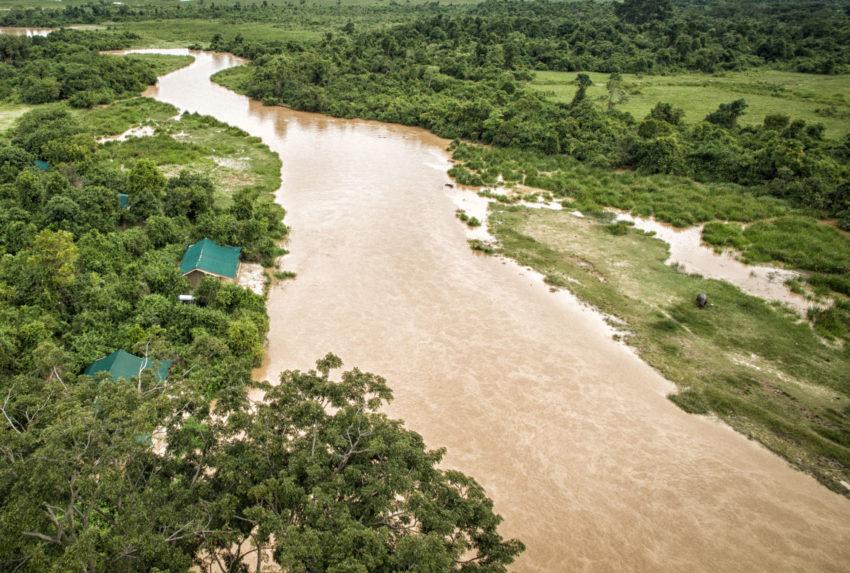 DRC-Verunga-Lulimbi-Tented-Camp-Aerial