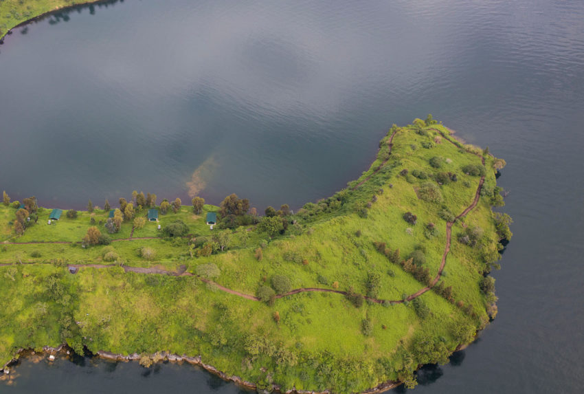 DRC-Virunga-Tchegera-Aerial