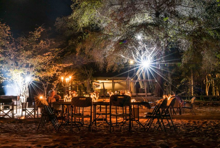 Changa Safari Camp Zimbabwe Lake Kariba Exterior