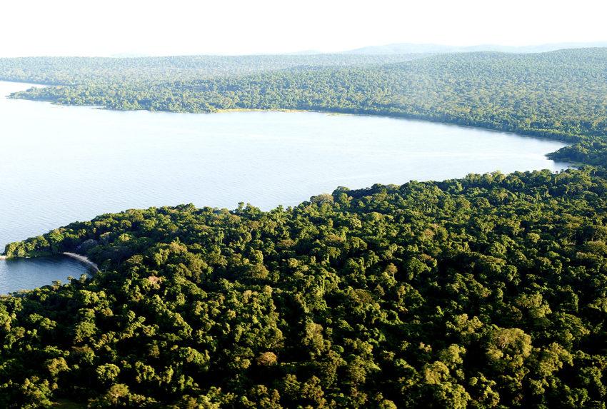 Tanzania-Rubondo-Island-Aerial