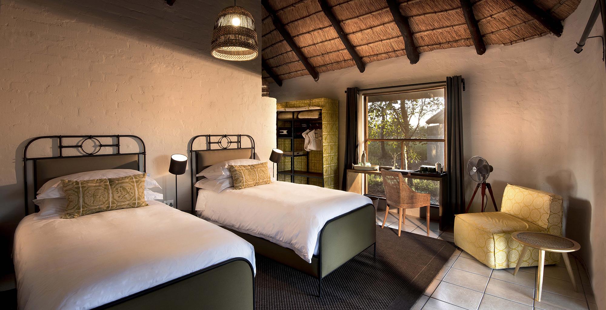 Botswana-Khwai-Bush-Twin-Room