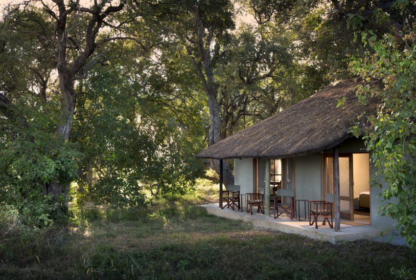 Khwai Leadwood Under Thatch Exterior Botswana