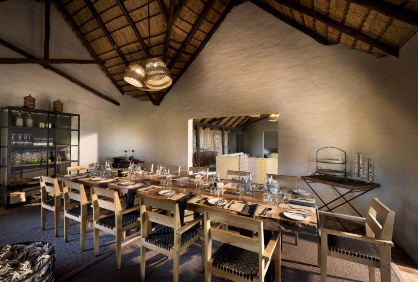 Khwai Leadwood Under Thatch Lounge Botswana