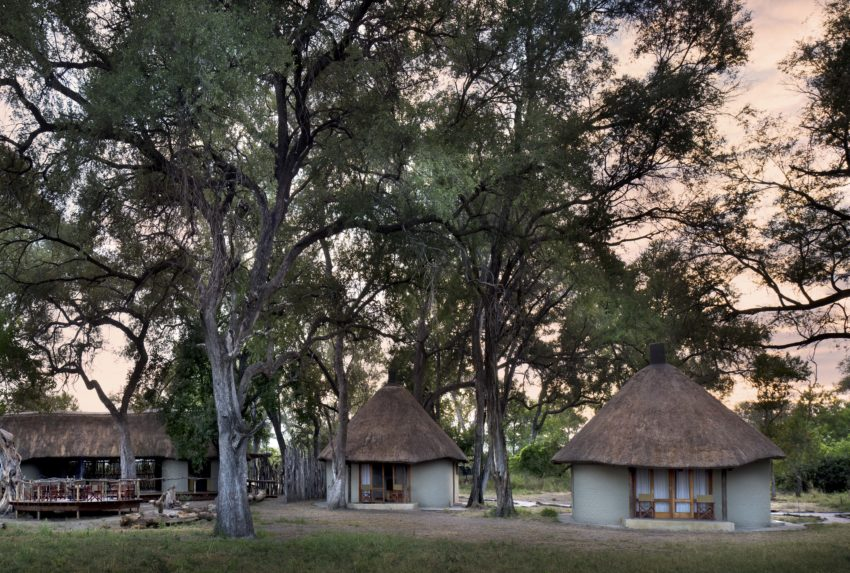 Khwai Leadwood Under Thatch Exterior Botswana