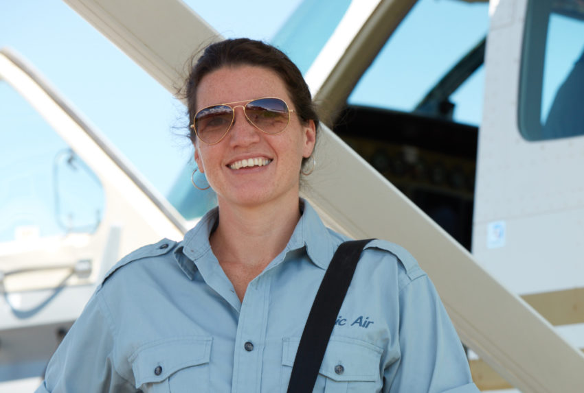 Sarah Snell Pilot Kenya Ttropic