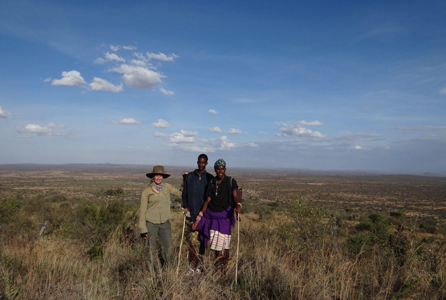 Walking Safaris with Anne Powys