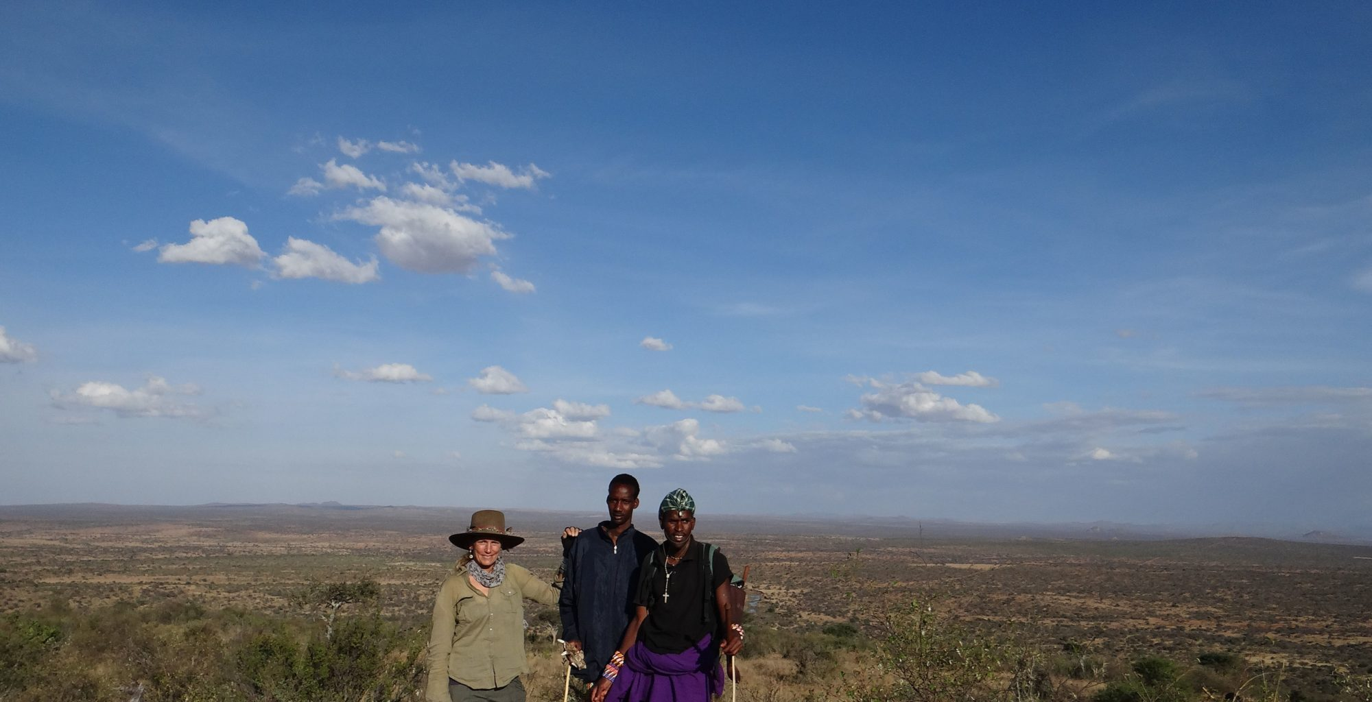 Walking Safaris with Anne Powys