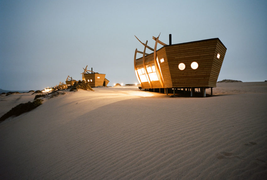 Namibia-Skeleton-Coast-Shipwreck-Lodge-Exterior-Night