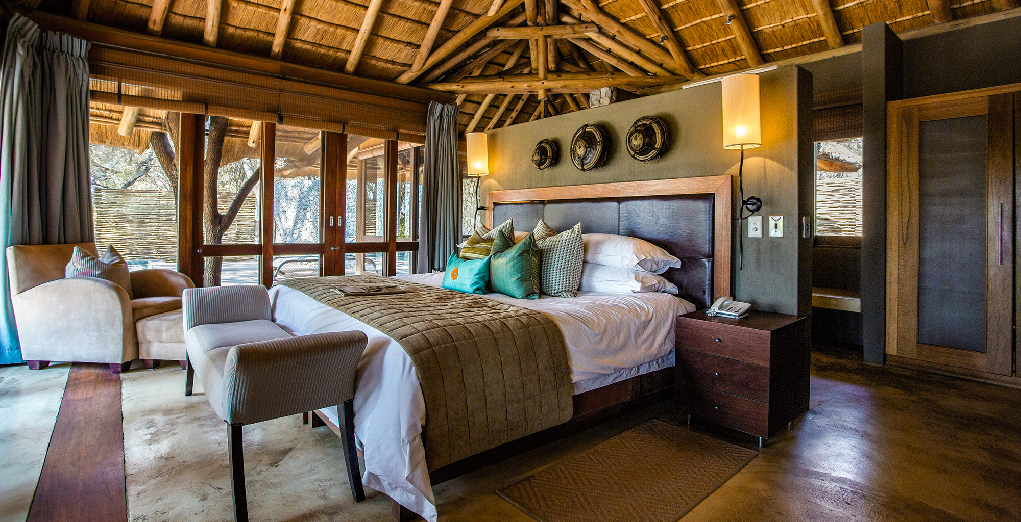South-Africa-Dulini-Leadwood-Bedroom