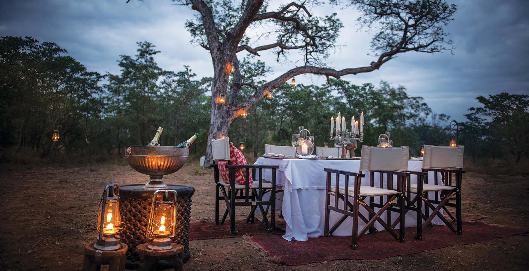 South-Africa-Dulini-Lodge-Bush-Dining