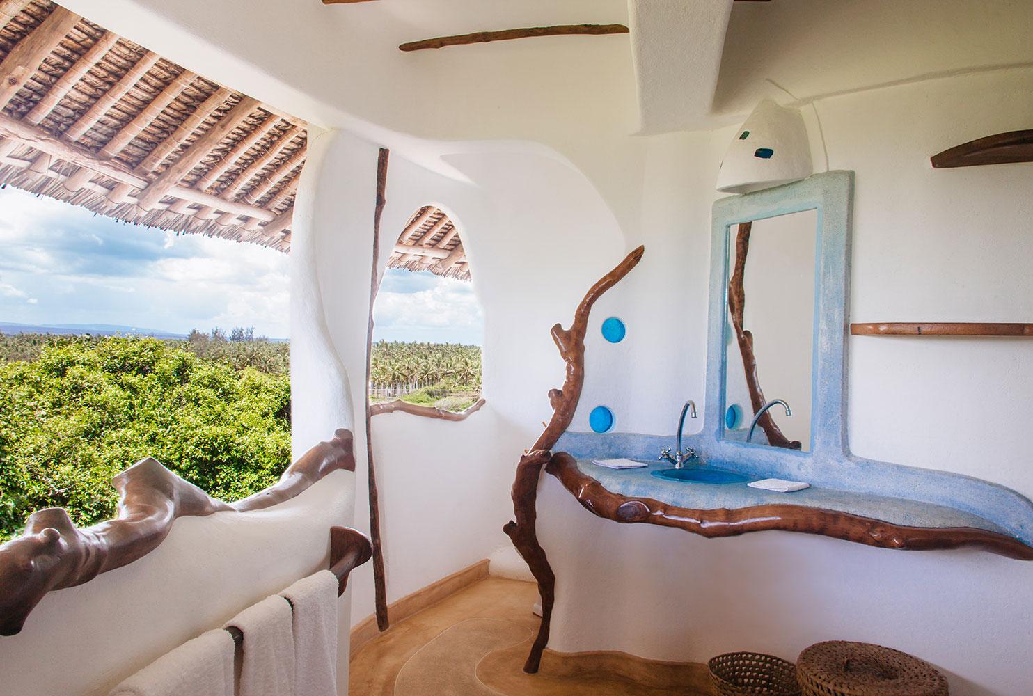 Kenya Watamu Treehouse Bathroom