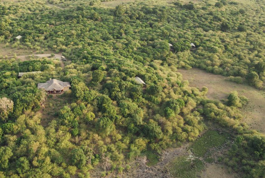 Tangulia Mara Maasai Kenya Aerial