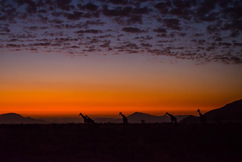 Namibia Neuhof Sunset The Nest