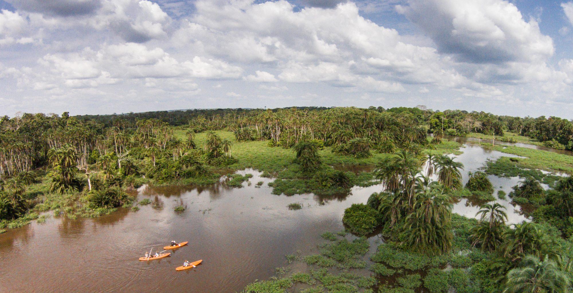 Odzala Kayaking Republic of Congo