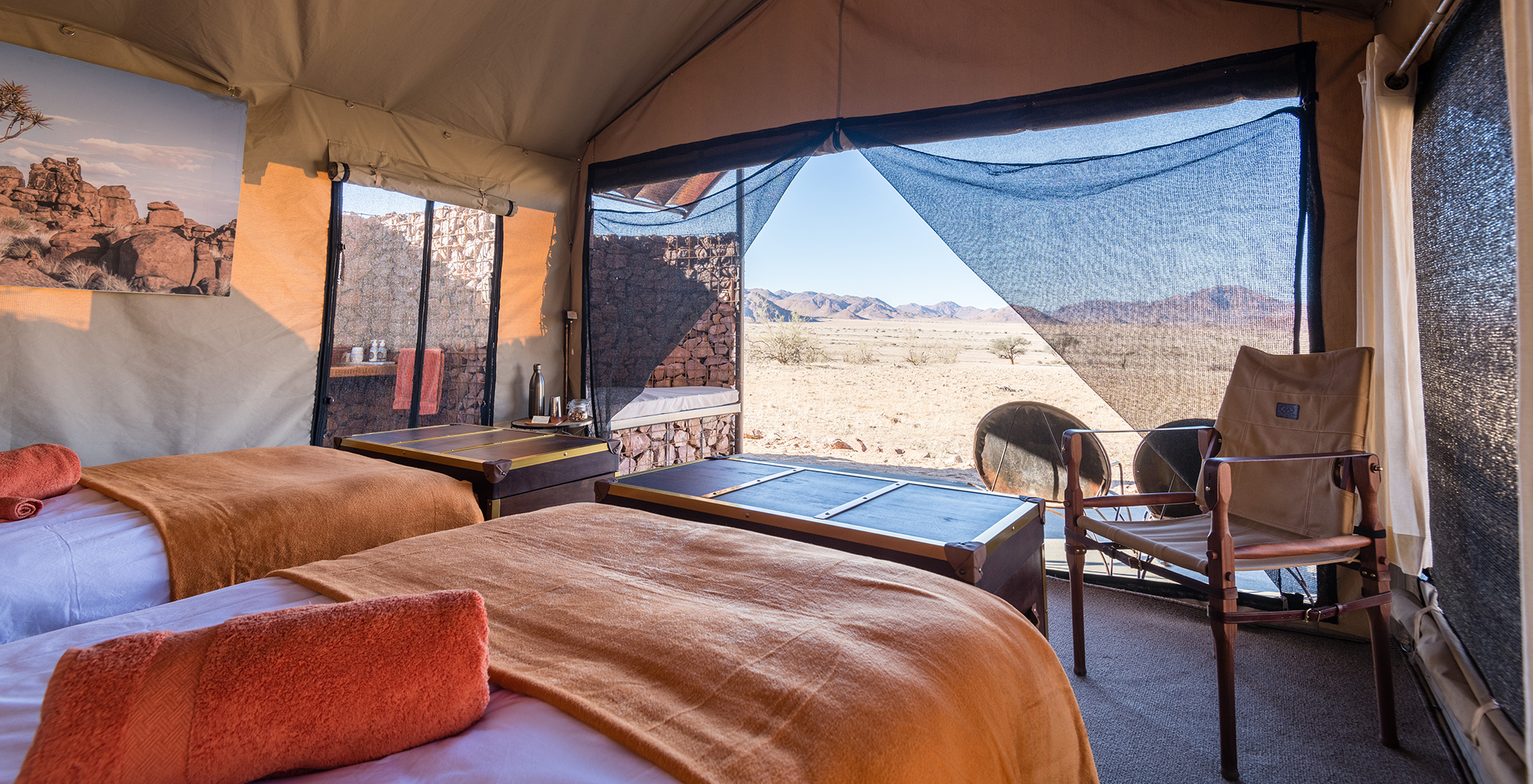 Namibia-Sossus-Under-Canvas-Bedroom-View