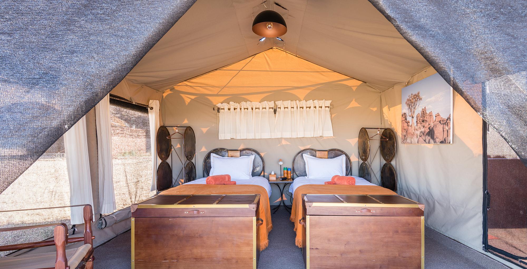 Namibia-Sossus-Under-Canvas-Bedroom