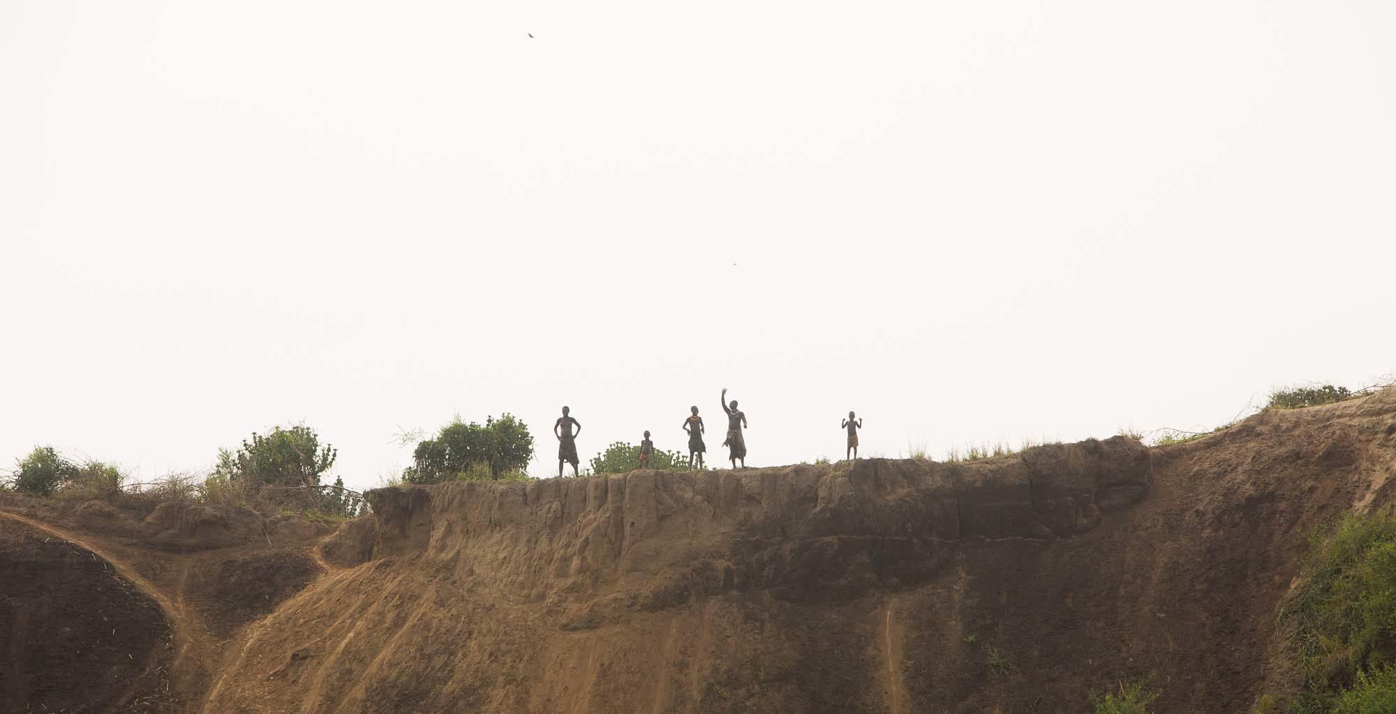 Mursi Fly Camp Omo River Ethiopia
