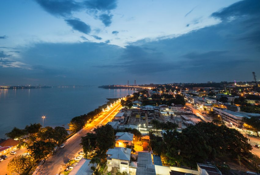 Brazzaville Cityscape Republic of Congo