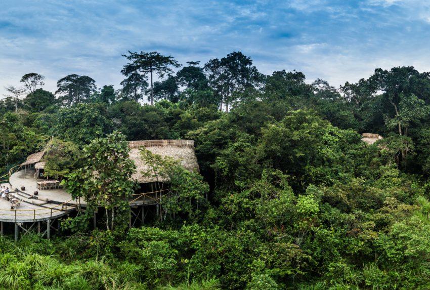 Odzala - Lango Bai - Lango Camp Location - Scott Ramsay