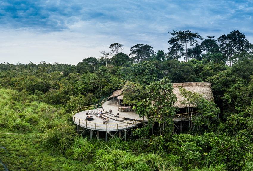 Republic-of-Congo-Lango-Camp-Aerial