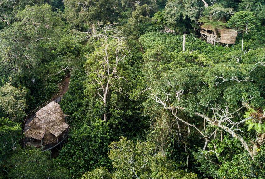 Republic-of-Congo-Ngaga-Camp-Aerial