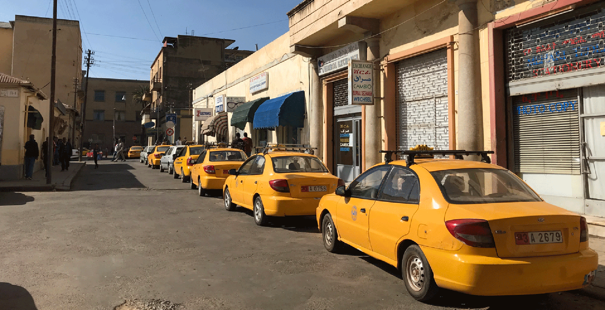 Eritrea-Asmara-City-Taxi