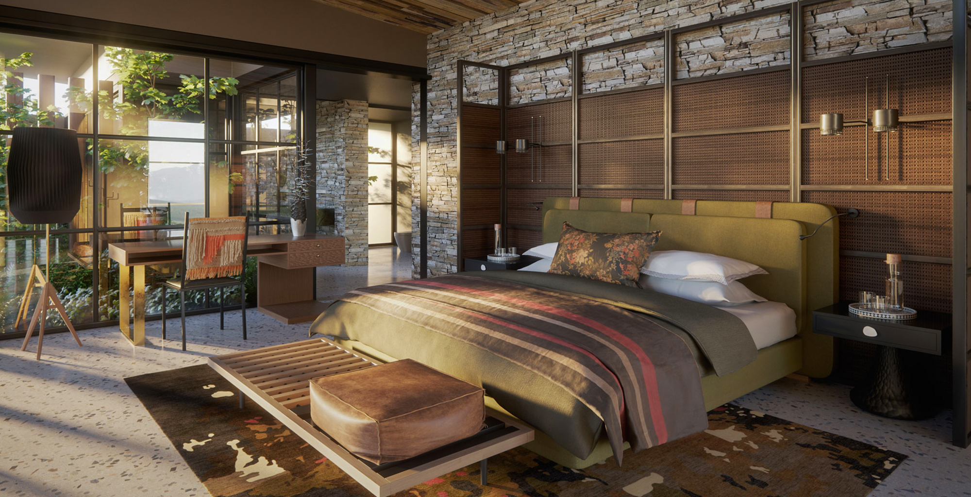 South-Africa-Tengile-River-Lodge-Bedroom