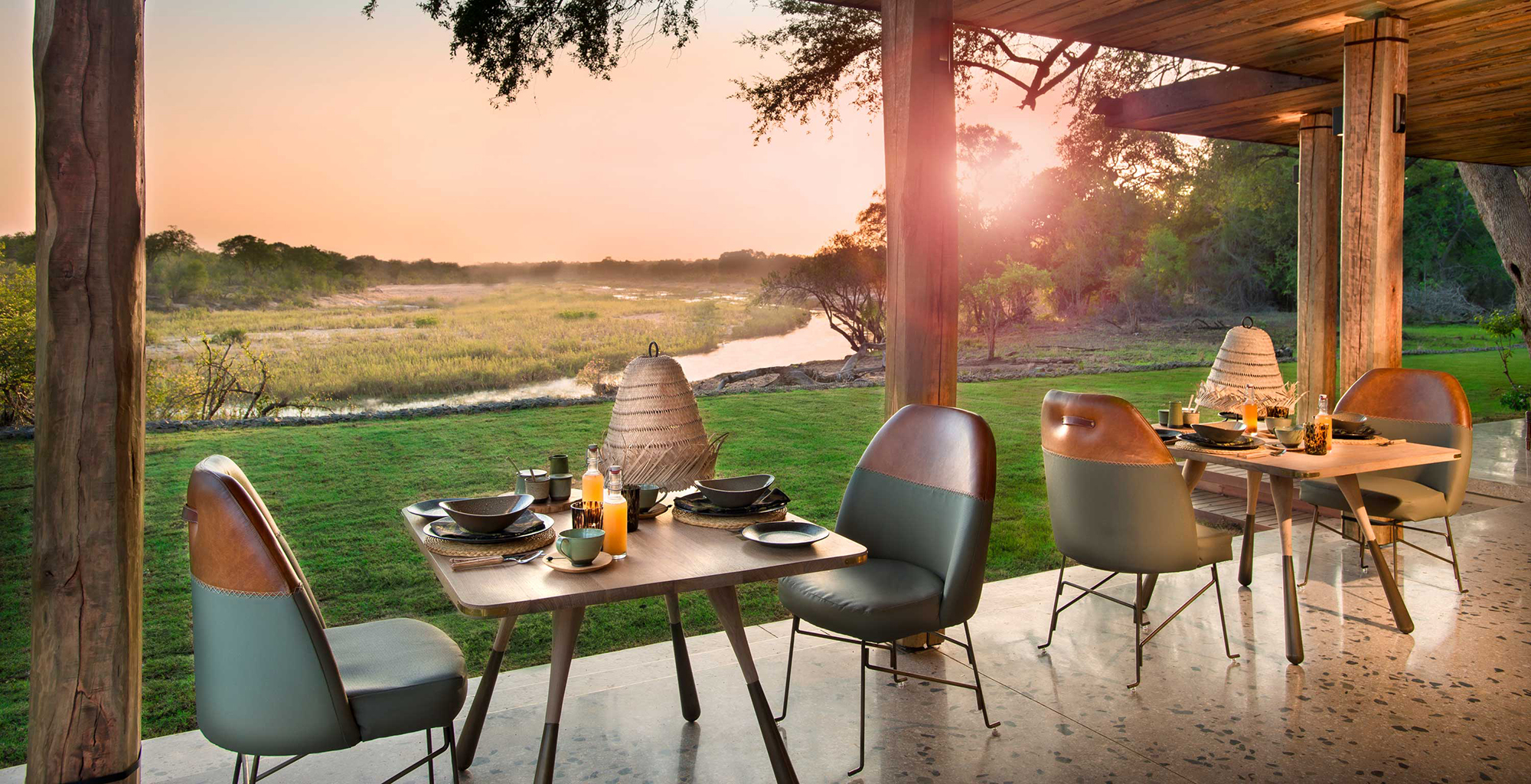 South-Africa-Tengile-River-Lodge-Dining