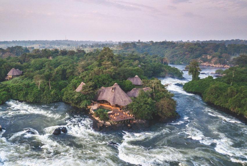wild waters uganda aerial