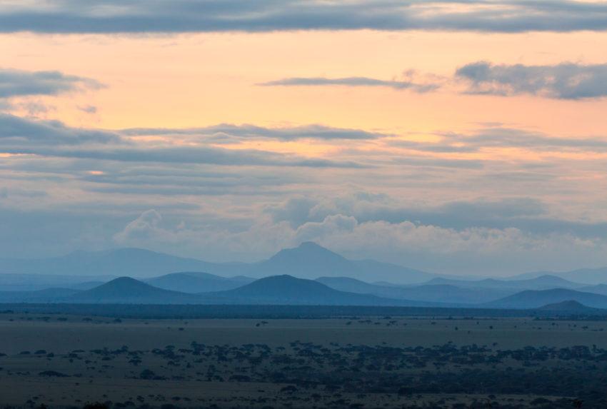 Kenya-Ol-Donyo-Landscape-Sunset