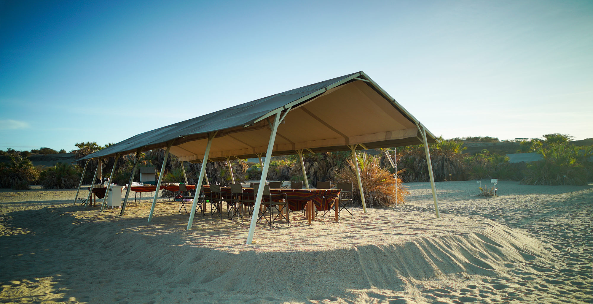 Kenya-Lobolo-Camp-Dining-Tent