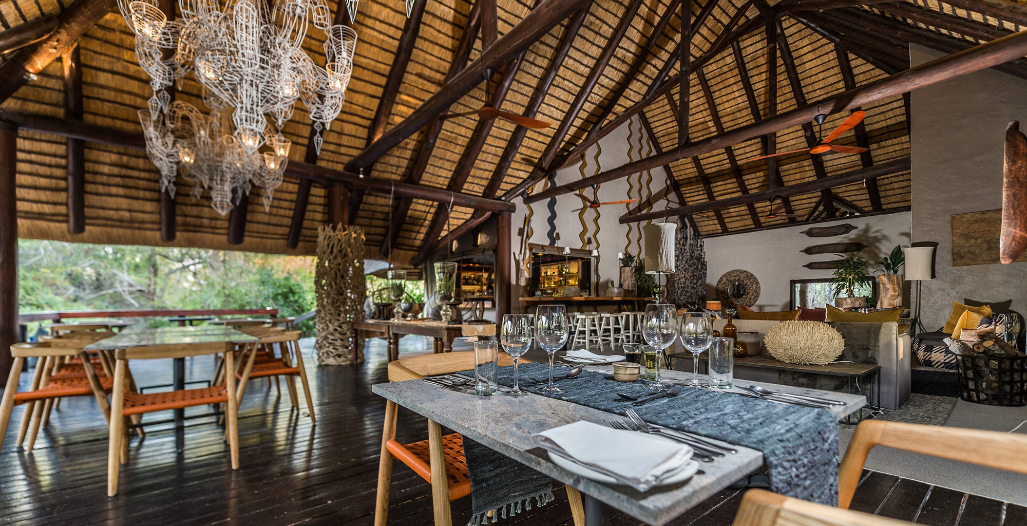 South-Africa-Little-Bush-Camp-Dining
